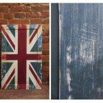 Британский флаг роспись .
