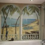 Роспись ванной