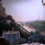 Роспись кухни - Париж