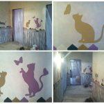 Недорогая роспись в детской