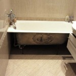 Роспись на ванной