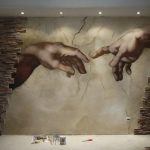 Роспись Микеланджело.