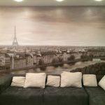 Роспись на стене Париж