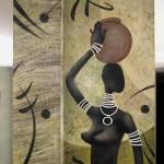 Африканская роспись
