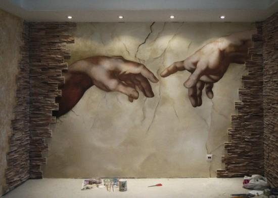роспись микеланджело