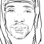 OUTLINE ART drawing Man