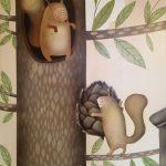 роспись детской дерево